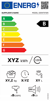 Energy Label for washing machines