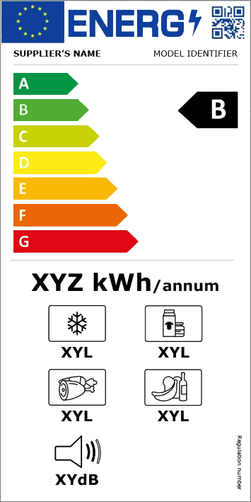 Energy Label for refrigerators and freezers
